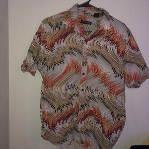 Dress men Kenneth Cole button shirt